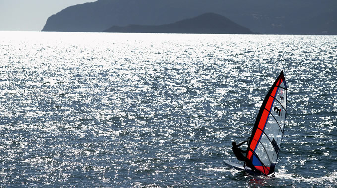 Windsurf all'Argentario
